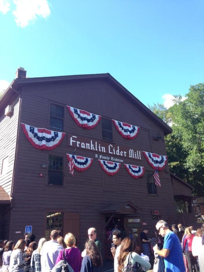 8) Franklin Cider Mill, Bloomfield Hills
