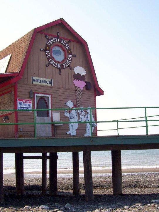 2) Frosty Bear Ice Cream Parlor, Homer