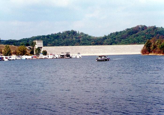 7. Grayson Lake and Dam
