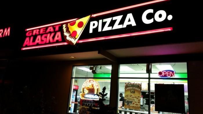 2) Great Alaska Pizza Company