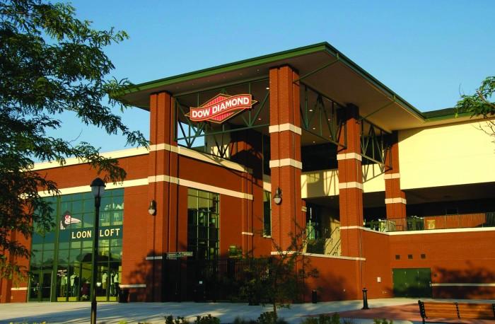 5) Great Lakes Loons Baseball, Midland