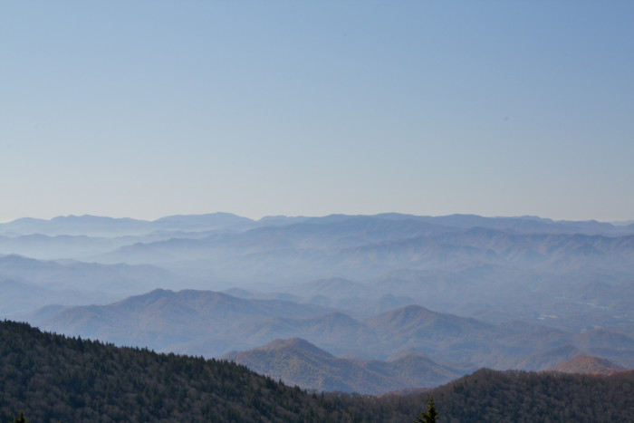1) Great Smoky Mountains