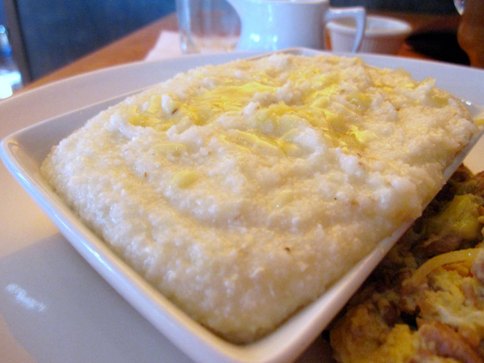 4. Grits with just about anything.