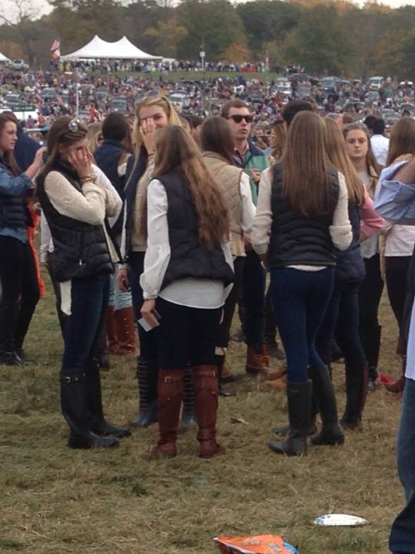 5. Girls begin to dress like Han Solo again…and it's not even Halloween yet.