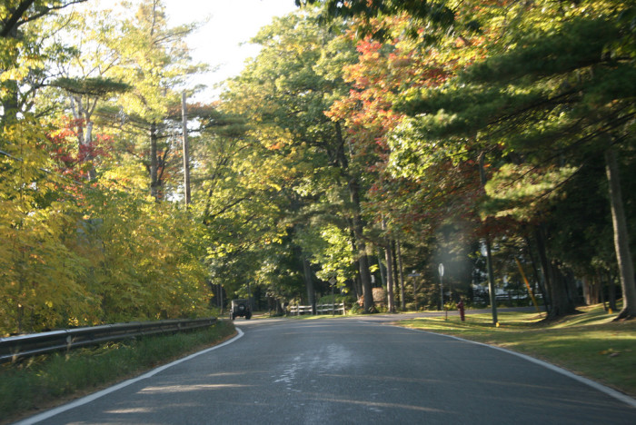 9) Harbor Springs to Cross Village's Tunnel of Trees