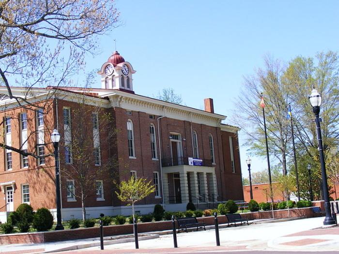 3) Hardeman County - 275.72 / 10,000
