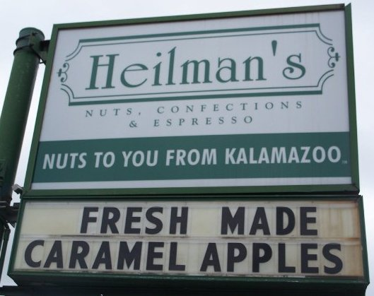 7) Heilman's Nuts and Confections