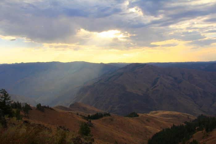7) Hell's Canyon National Recreation Area