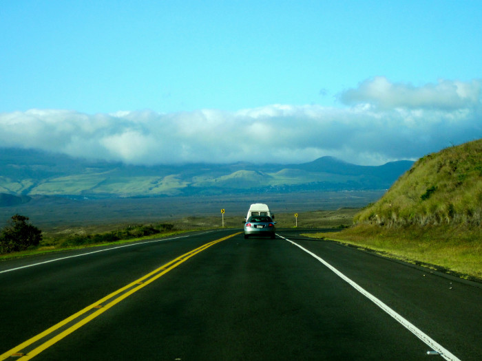 3) Highway 200, also known as Saddle Road, connects the towns of Kona and Hilo on either side of the Big Island.