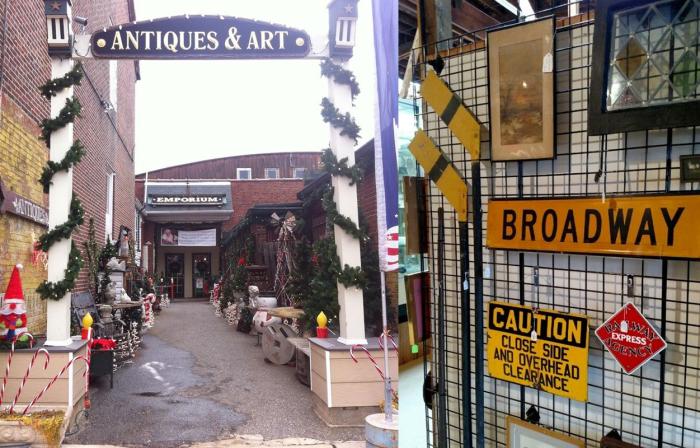 8. Historic Burlington Antiques & Art Emporium, Burlington