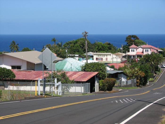 3) Honomu, Big Island