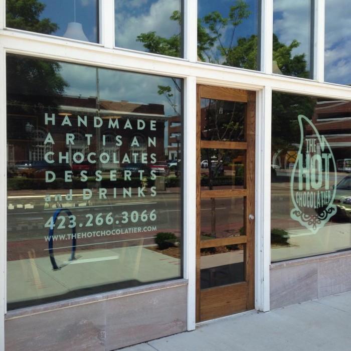 4) The Hot Chocolatier - Chattanooga