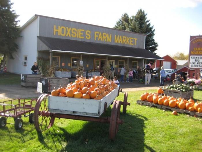 5) Hoxsie's Farm Market, Williamsburg