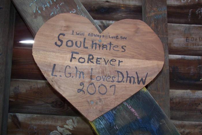 Humpback Bridge Heart Sign