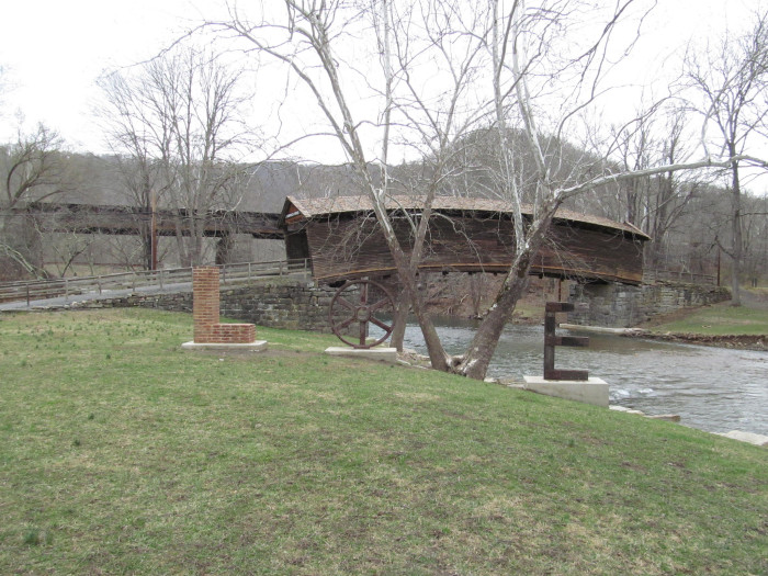 16. Pack a Picnic and Head to a Covered Bridge.