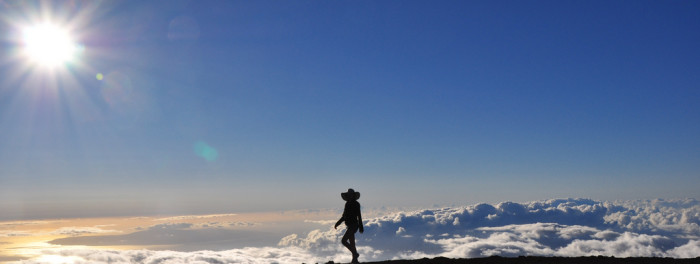 10) I can't decide if walking amongst the clouds at Haleakala National Park would be exhilarating – or the most nerve-wracking experience of my life.