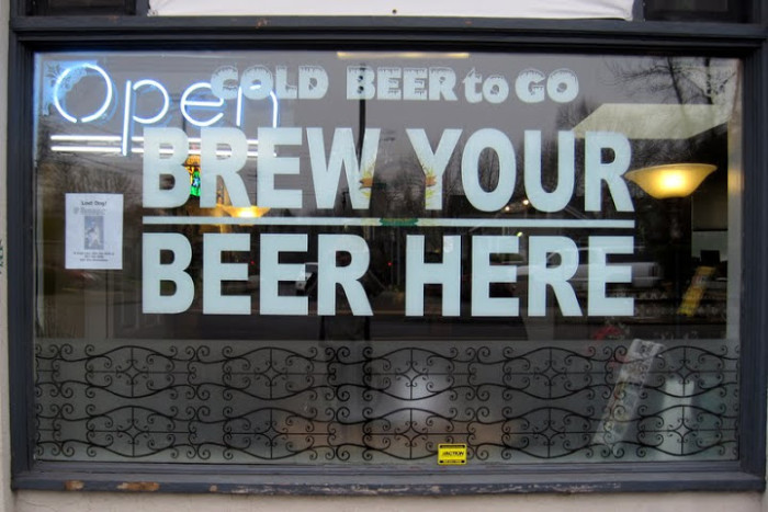 5) Brew your own beer.