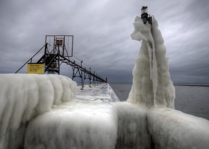 8) Ice, Grand Haven