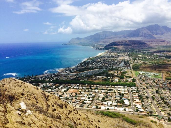 5) If you want to brave the steep climb to the top, the Pu'U'Ohulu Kai hike on Oahu's leeward coast provides a pretty cool spot to take some stellar shots.