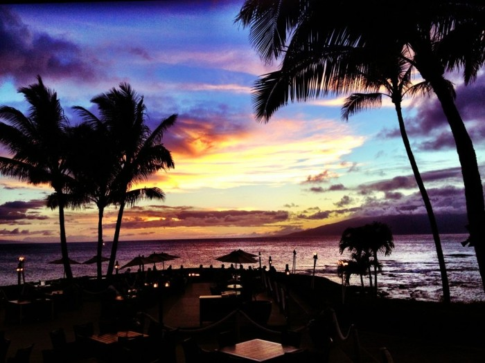 5) Is there anything better than a sunset view over the ocean paired with a romantic dinner at Merriman's?