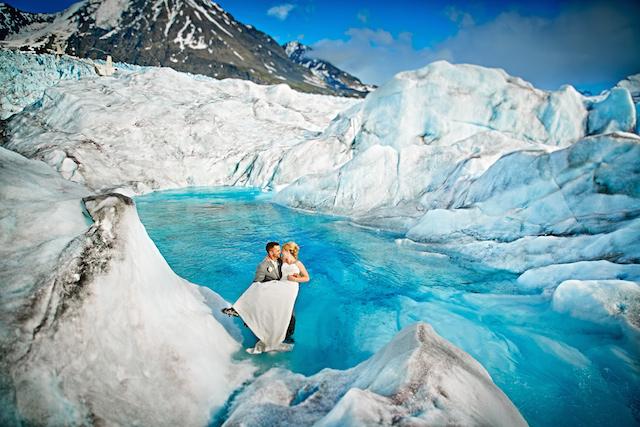 2) A Glacier Wedding