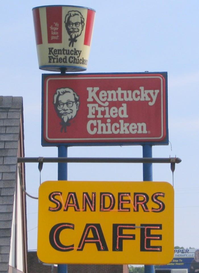 4. Kentucky Fried Chicken.