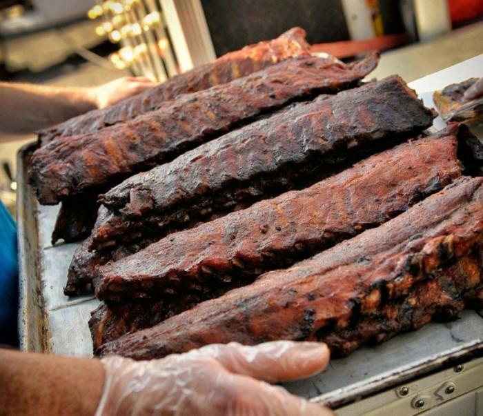 KY BBQ Festivale in Danville Food