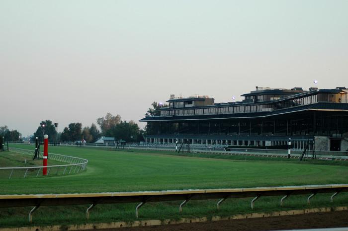 11. Keeneland Race Track.