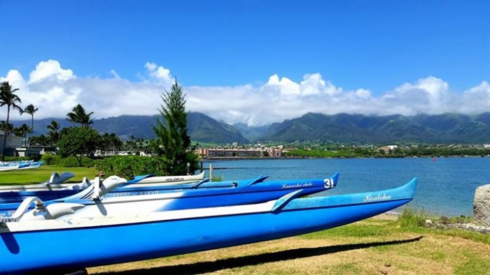 5) Kim Arrington's photo of Iao Valley was taken from across the harbor in Kahului.