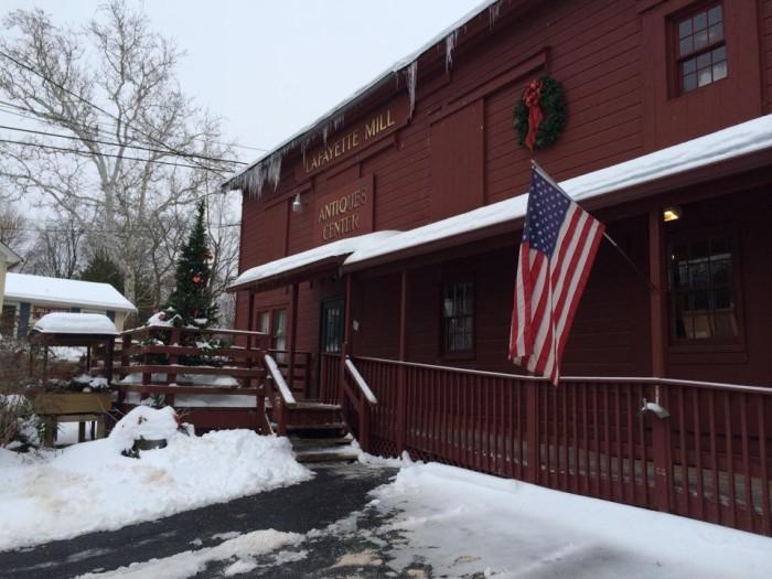 1. Lafayette Mill Antiques Center, Lafayette