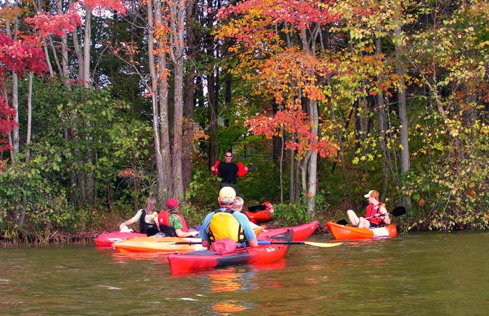 Lake Anna kayak