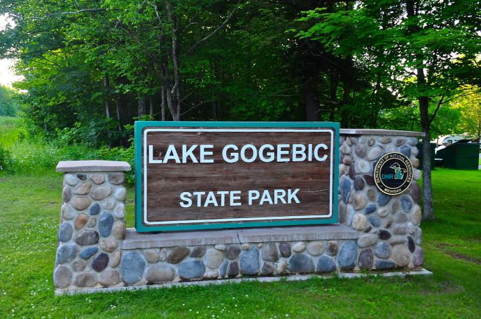 3) Lake Gogebic State Park, Wakefield