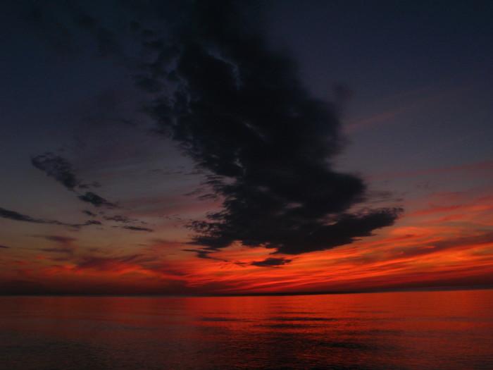7) Lake Michigan Dusk. Grand Haven