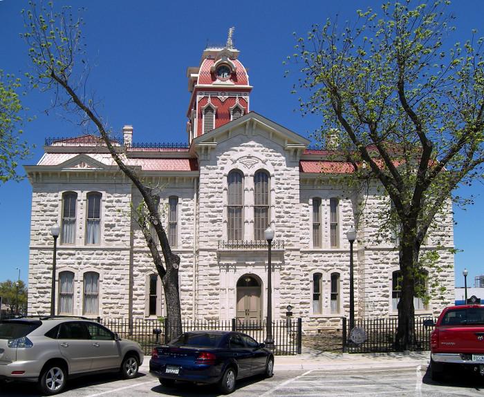 13) Lampasas County