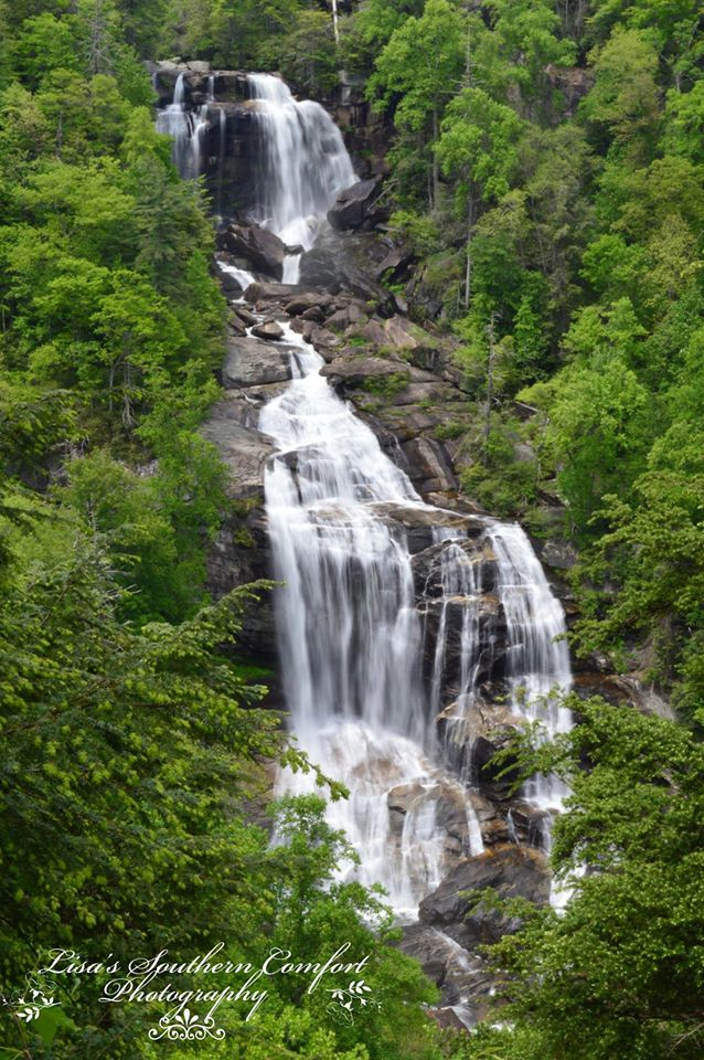 22. A full shot of White Water Falls as taken by Lisa Marie LaBrecque of Lisa's Southern Comfort Photography.