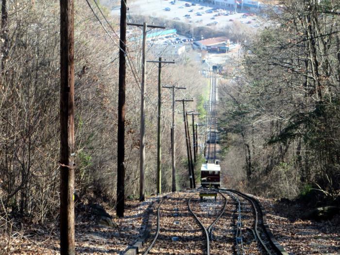 4) Lookout Mountain Incline Railway