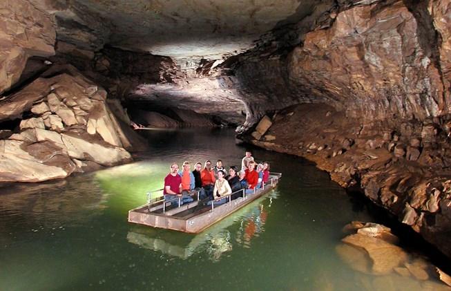 2. Lost River Cave.