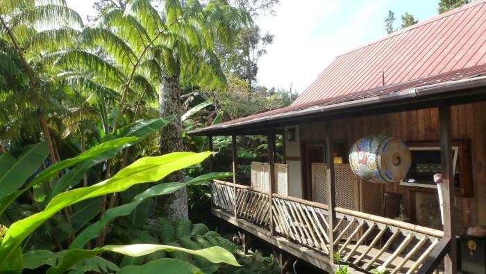 6) Lotus Garden Cottages, Volcano