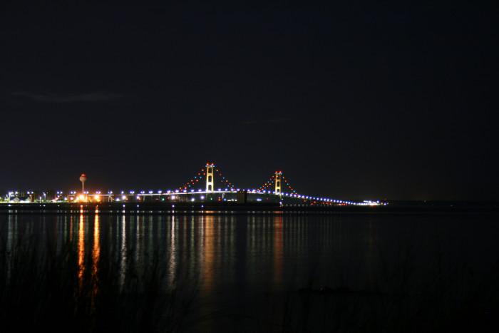 6) Mackinac Bridge