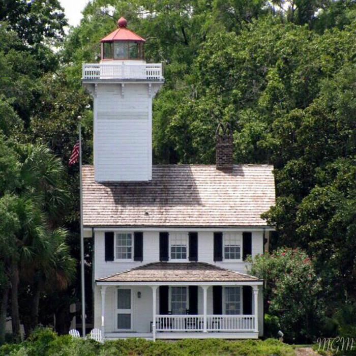 16. Haig Point Lighthouse as it has never been seen before taken by Marion Mersch.