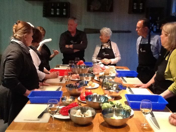 6) Take a cooking class together