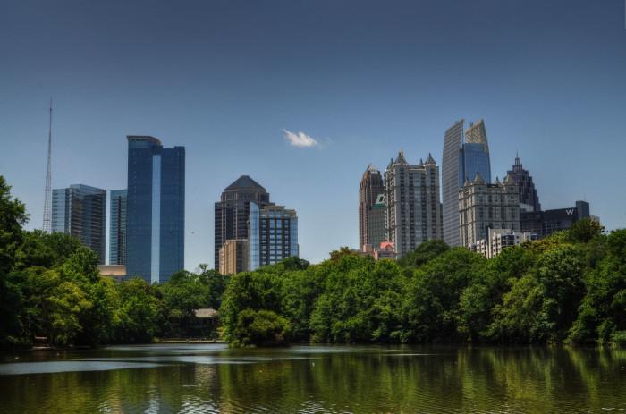 1. Atlanta- Population 450,000