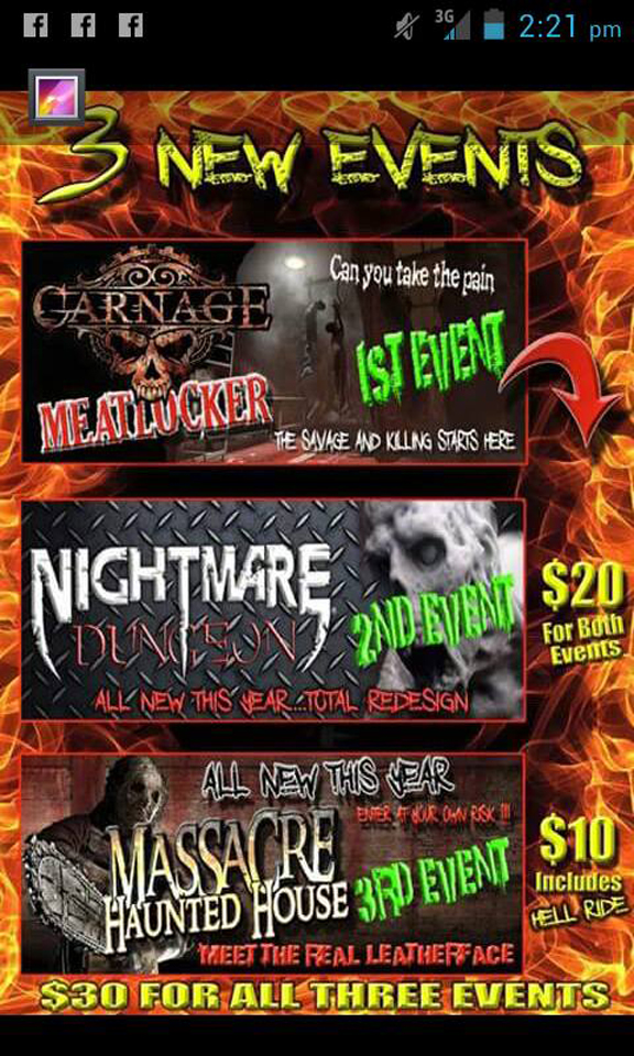 3. Nightmare Dungeon, 645 Old Anderson Road Greenville