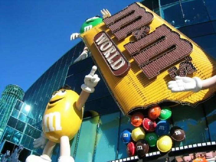 2. M&M's World - Las Vegas