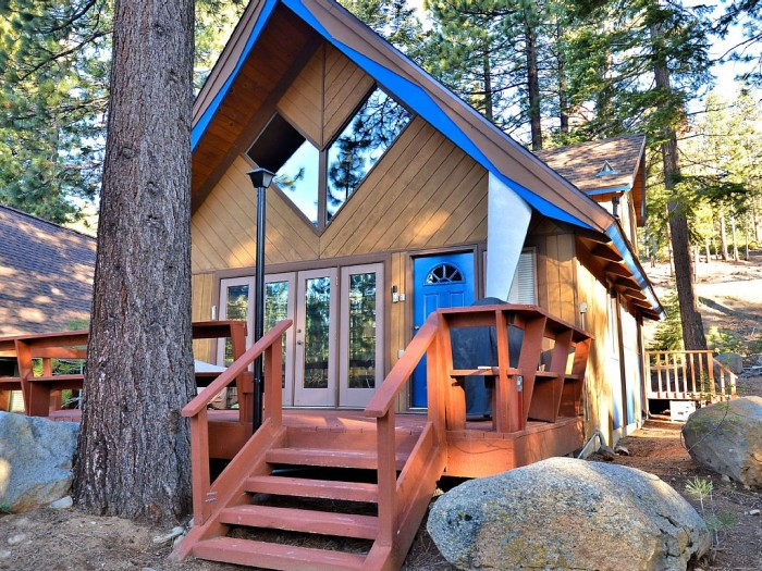 3. Rent a cabin in the mountains for a relaxing vacation getaway.