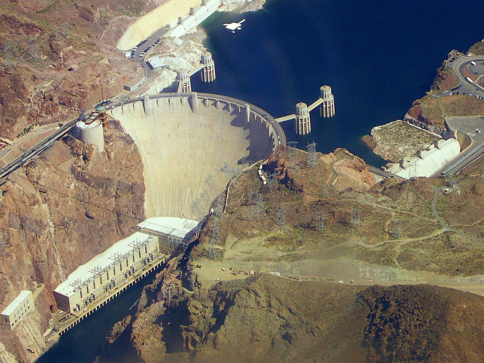 9. Hoover Dam is located here in Nevada and it's AMAZING!