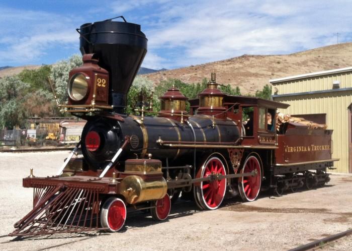 4. Nevada State Railroad Museum - Carson City