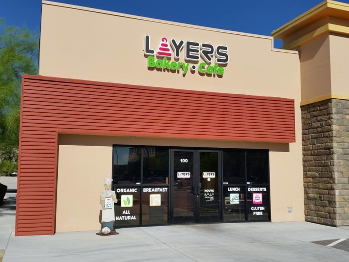 5. Layers Bakery Cafe - Las Vegas, NV