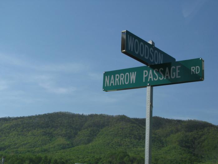 14. Narrow Passage, Buchanan to Bedford
