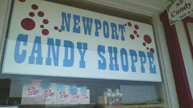 5) Newport Candy Shoppe, Newport